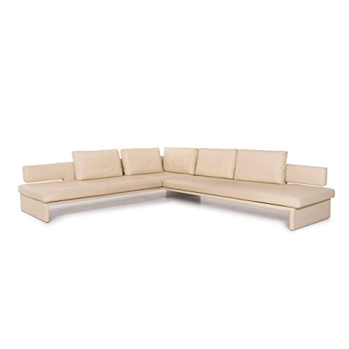 Walter Knoll Together Creme Ecksofa Leder