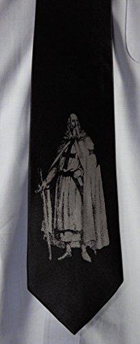Thetraveler333 Jacques Demolay Fremason Masonic Silk Tie