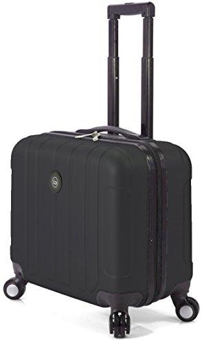 Benzi - Maleta Portaordenador, Negro, 43x 40x 22 cm