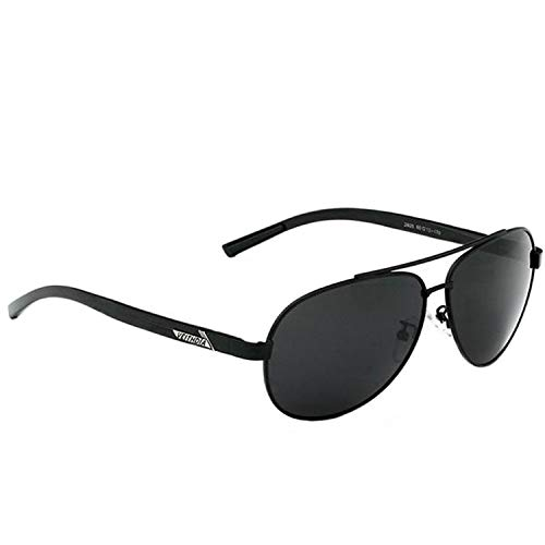 VEITHDIA Gafas de sol polarizadas para hombre, montura de metal, ultraligeras, 2605