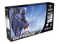 PNY GeForce 9800 GTX+ Grafikkarte PCI-E 512MB DDR3 HDMI