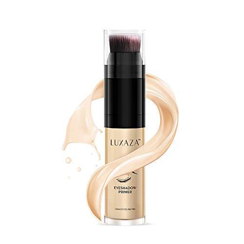 LUXAZA Eyeshadow Primer Makeup Waterproof Long Lasting Eye Primer Foundation Makeup Eyeshadow Base Lightweight Eyeshadow Primer For Prevent Oily Lids And Crease 15ml