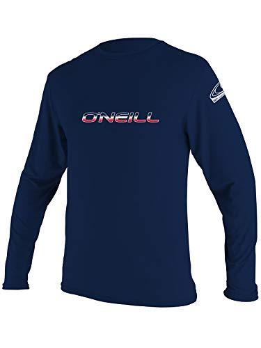 O'Neill Men's Basic Skins Longsleeve Rash Tee 3XL Navy (4339IB)
