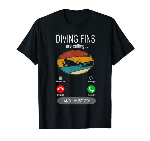 Taucherflossen rufen - Diver Scuba...