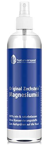 Magnesiumöl von Naturversand 300ml | Magnesium-Spray aus original Zechstein Inside Magnesiumchlorid Natursole