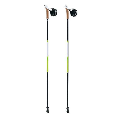 Swix CT4 Nordic Walking Stock Lime Carbon Tech mit Twist & Go Spitze 1 Paar 110cm