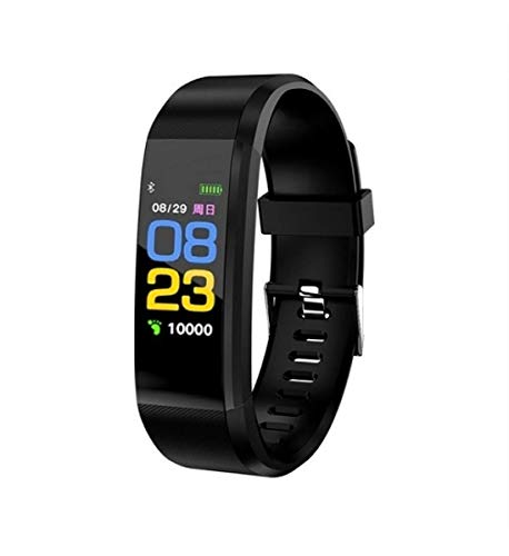 MAGBOT V5S Bluetooth Wireless Smart Fitness Band for Boys/Men/Kids/Women   Sports Watch Compatible with Xiaomi, Oppo, Vivo with All Mobile Phone   Heart Rate and BP Monitor, Calories Counter