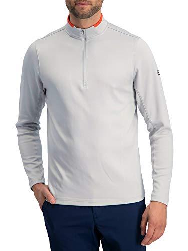 Golf Half Zip Pullover Men - Fleece Sweater Jacket - Mens Dry Fit Golf Shirts
