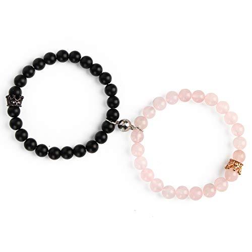 Magnetic Couple Bracelets King&…
