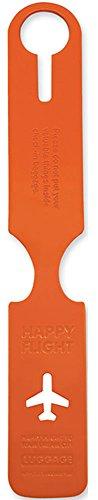 アリフ ハッピーフライト ラゲッジネームタグ (ALIFE HAPPY FLIGHT) オレンジ