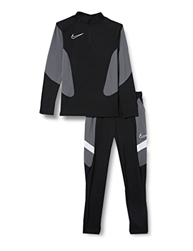 Nike Y NK Dry ACDMY FTBL Suit K MX Tuta da Ginnastica, Black/Black/White/(White), XS Unisex-Bambini