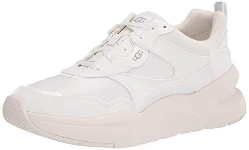 UGG La Hills Sneaker, White / White, Size 8.5