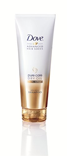 Dove Advanced Hair Series Shampoo Pure Pflege Schwereloses Öl, 250 ml