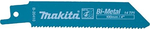 MAKITA B-20410 - Hoja sierra de sable para metal 100 mm 14...