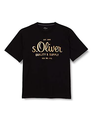s.Oliver Big Size Herren 131.14.107.12.130.2108214 T-Shirt, 10001, 4XL