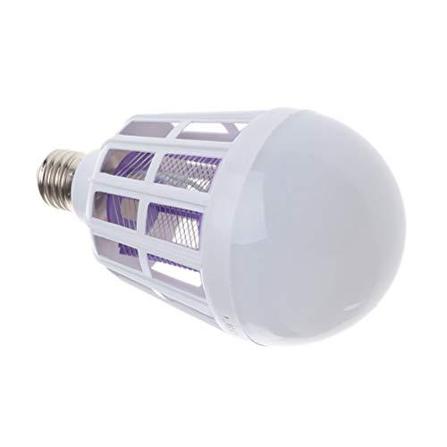 Mobestech 15W Insect Light 220V Mosquito Killer Bulbo de luz anti-uso Mosquito Bombilla