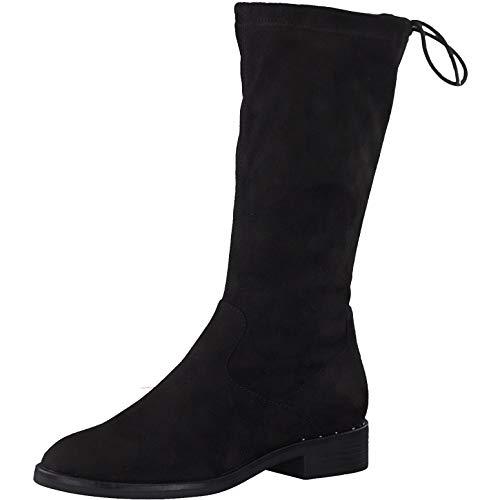 s.Oliver Damen Stiefel 25514-23, Frauen KlassischeStiefel, Boots reißverschluss Damen Frauen weibliche Lady Ladies feminin Women,Black,37 EU / 4.5 UK