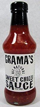 Taste Nirvana Grama's Sweet Chili Sauce, 13 Ounce (Pack of 6)