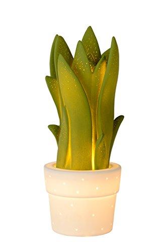 Preisvergleich Produktbild Lucide SANSEVIERIA - Tischlampe - E14 - Grün