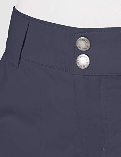 Columbia Saturday Trail Pantalón para Mujer, Gris (India Ink), 10/R
