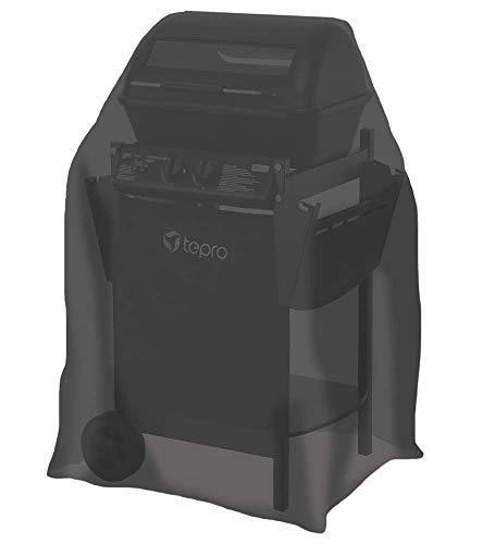 Tepro 8103kleiner Universal-Bezug für Gasgrill,Schwarz