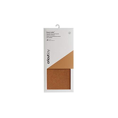 Cricut 2007361 Joy Smart Label-Schreibpapier, Brown, for