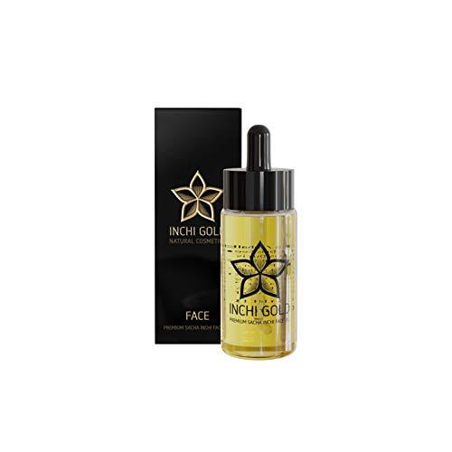 Sacha Inchi Gesichtsöl (30 ml) – Anti-Aging Gesichtspflege für Tag und Nacht mit 50% Sacha Inchi Öl. Premium Gesichtsöl für trockene, normale und Mischhaut. Vegane...