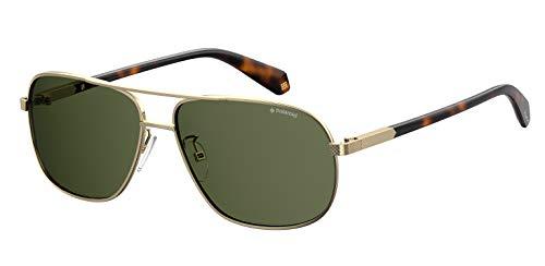 Polaroid PLD 2074/s/x Sunglasses, J5G/UC Gold, 60 Mens