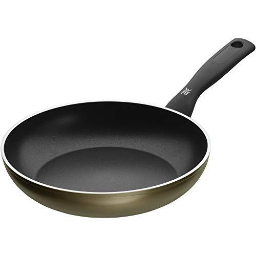 WMF 545244021 Permadur Element Sartén de Aluminio, Antiadherente, Apto para Todo Tipo de Cocinas Incluido Inducción, Exterior Resistente en Acero, 24 cm sin PFOA