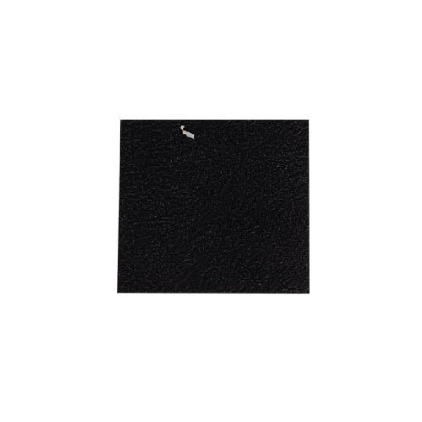 放送火薬条件付きピカエース ネイル用パウダー カラー純銀箔 #620 黒色 3.5㎜角×5枚