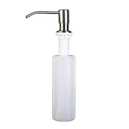 Dispensador de jabón Yushu de 300 ml para fregadero de cocina, dispensador de jabón manual, dispensador de jabón líquido