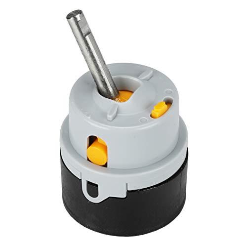 丹科三角洲钻石盒厕所,厨房龙头修理包|可选的安全功能,用热水限制器(10992),灰色