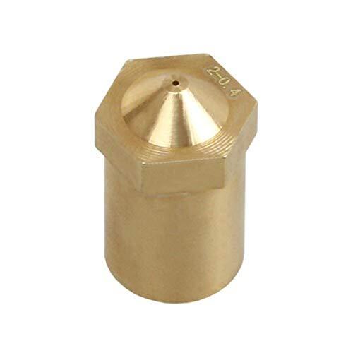 ZHANGSHENG ZSHENG Boquilla M6 de Repuesto de 0,35 mm para Todos los hotend de Metal J-Head V2.0 para el filamento de 1.75mm