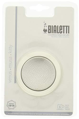 Bialetti 5380/AP Kaffeefilter, Kaffeefilter, Silber, Metall, Italien, 1 Stück