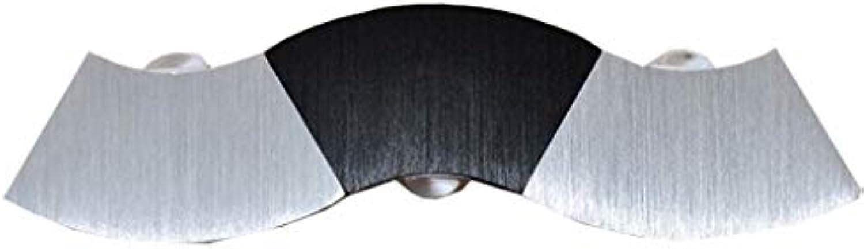 ZH Wandleuchten 6W LED Badezimmer Wandleuchten Spiegel Licht Aluminium und Acryl Spiegel Front Make-up Beleuchtung, TV Wand Flur Beleuchtung