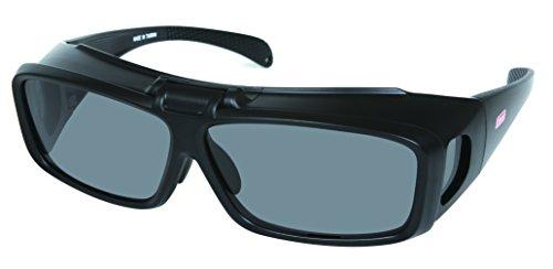 偏光オーバーサングラス 跳ね上げ式 COV01