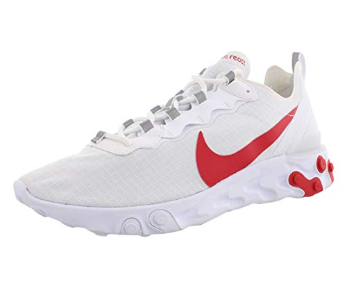 Nike React Element 55 SE SU19, Zapatillas de Atletismo para Hombre, Blanco...