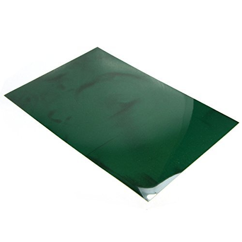 CMS Magnetics 4' x 6' Green Magnetic Viewing Film, See Magnetic Field with This Magic Film to Learn Magnetism. Applicable for All Kinds of Magnets Including Neodymium Magnets, Lots of Fun!