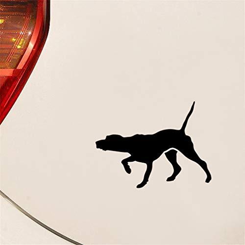 pegatinas coche Etiquetas engomadas del coche del perro del puntero del 9.5x12.7cm...