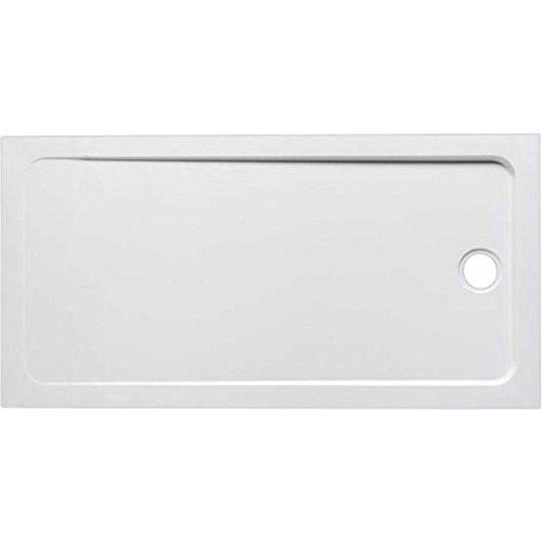 Jacob delafon flight - Plato ducha rectangular suelo 110x80x4 blanco