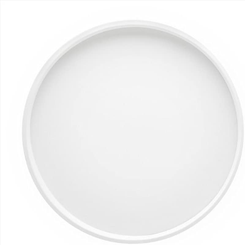 Kraftware Bartenders Choice Serving Tray White 14 Inch Food Tray For Coffee Table Breakfast Tea Butler Countertop Kitchen Vanity Hotel Serve Tray
