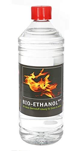 1L Bio Ethanol 96% Brennstoff Kamin Alkohol für Wandkamin Rückstandslos geruchlos