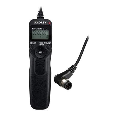 PHOLSY N8 Disparador a Distancia con Temporizador y Intervalómetro Mandos a Distancia...