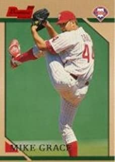 1996 Bowman #341 Mike Grace RC Near Mint/Mint