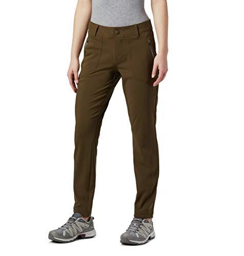 Columbia Bryce CanyonTM II Pantalon pour Femme Bryce CanyonTM II Pant, Femme, 1865351, Vert Olive, S Regular