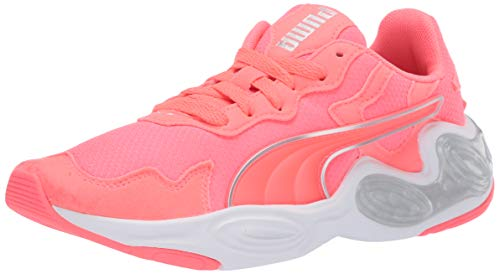 PUMA Women's Cell Magma Cross Trainer, Nite Pink White, Numeric_5_Point_5