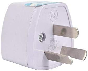 Adaptador de Enchufe para Australia, Argentina, China a Universal (Tipo I): Amazon.es: Electrónica