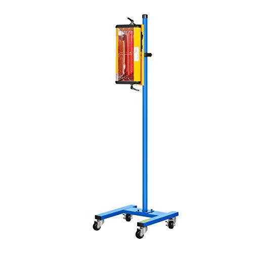 MSW Lacktrockner Infrarot Trockner Strahler IR-DRYER1000 1100 W 1 Strahler 40-100 °C Bild 3*