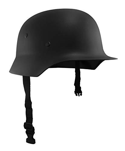 Nicky Bigs Novelties Adult German Army Helmet Costume, Black, One Size