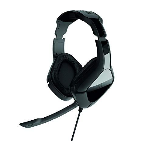 Gioteck HC-2+ Stereo Gaming Headset, Multi-Plattform Kopfhörer, Kabelgebunden Wired, Noise-Cancelling Mikrofon, für PC, PS4, Xbox One, Nintendo Switch, Mac, schwarz
